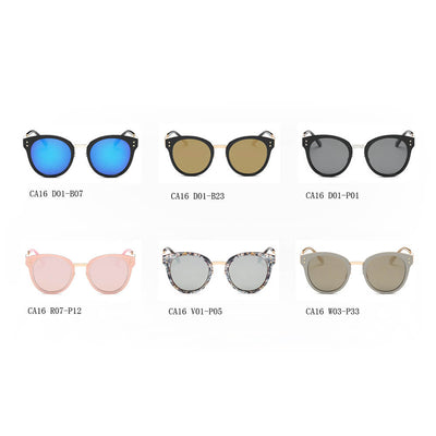CA16 Hipster Polarized Lens Horned Rim Sunglasses - Iris Fashion Inc. | Wholesale Sunglasses and Glasses