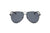D73 - Oversize Flat Mirrored Lens Teardrop Aviator Sunglasses - Wholesale Sunglasses and glasses