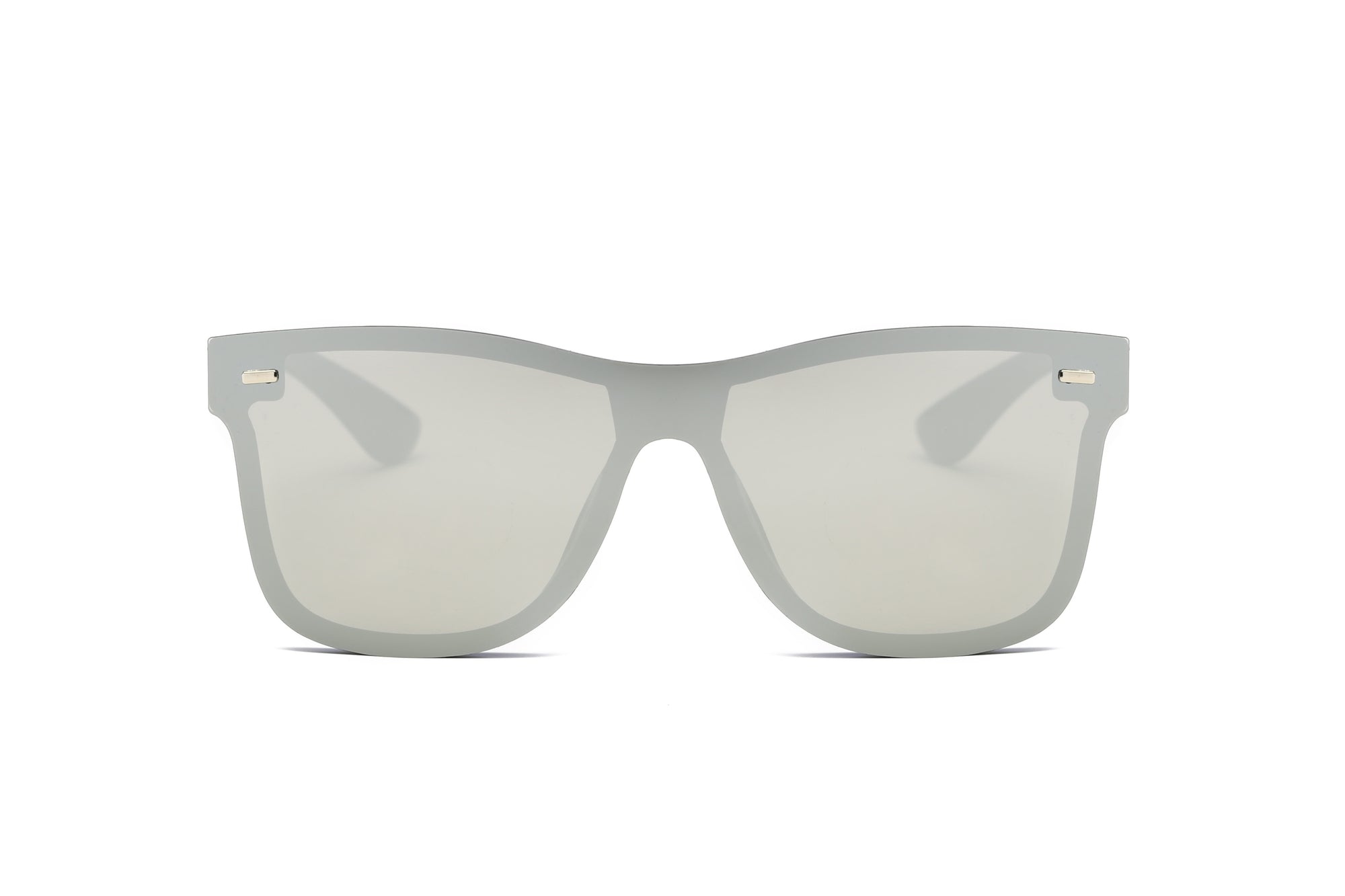 S2010 - Modern Colored Rim Men's Horn Rimmed Sunglasses - Iris Fashion Inc.