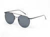 D63 Vintage Round Aviator Mirrored Flat Lens Sunglasses - Wholesale Sunglasses and glasses here we show