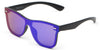 S2010 - Modern Colored Rim Men's Horn Rimmed Sunglasses - Iris Fashion Inc. | Wholesale Sunglasses and Glasses
