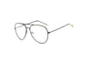 F1002 Trendy Teardrop Aviator Clear Lens Sunglasses - Iris Fashion Inc. | Wholesale Sunglasses and Glasses