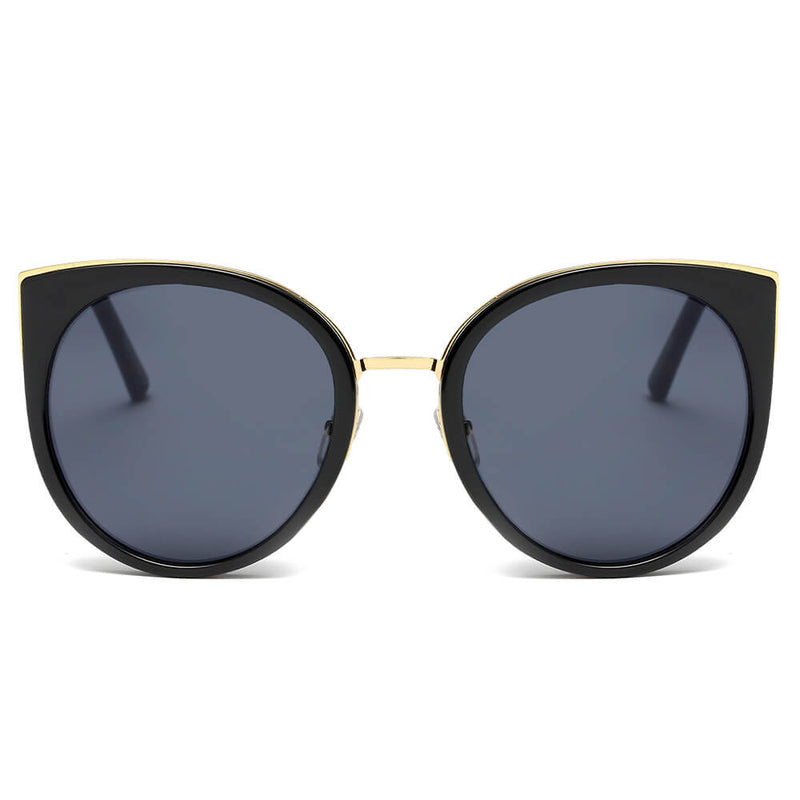 1c3188eb415 CD09 Women s Iconic Mirrored Lens Cat Eye Sunglasses - Wholesale Sunglasses  and glasses here we show
