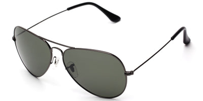 P3025 Metal Frame Polarized Aviator Sunglasses - Iris Fashion Inc. | Wholesale Sunglasses and Glasses