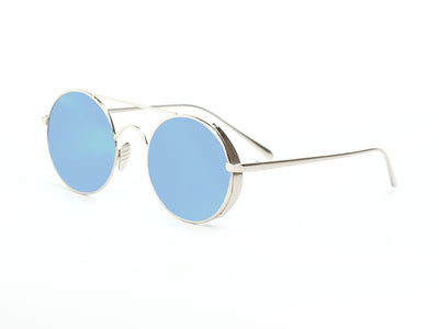 D62 - Retro Metal Round Circle Lennon Sunglasses - Iris Fashion Inc. | Wholesale Sunglasses and Glasses
