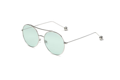 S1016 - Unisex Round Tinted Lens Sunglasses - Iris Fashion Inc. | Wholesale Sunglasses and Glasses