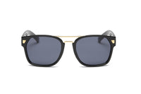 S1002 Classic Retro Square Frame Fashion Sunglasses - Wholesale Sunglasses and glasses