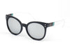 E07 - Jaunty Mirrored Lens Soft Cat Eye Sunglasses - Iris Fashion Inc. | Wholesale Sunglasses and Glasses