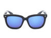 E08 Hipster Thick Frame Square Mirrored Lens Sunglasses - Wholesale Sunglasses and glasses here we show