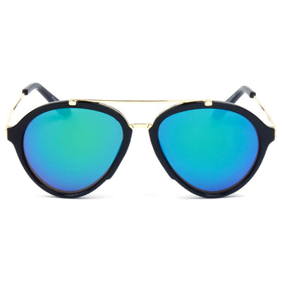 D19 - Round Brow-Bar Tear Drop Fashion Sunglasses - Iris Fashion Inc. | Wholesale Sunglasses and Glasses