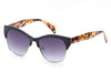 D43 - Modern Vintage Thick Frame Clubmaster Sunglasses - Iris Fashion Inc. | Wholesale Sunglasses and Glasses
