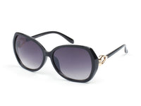D46 Premium Chic Butterfly Sunglasses w/ Gold Detail - Wholesale Sunglasses and glasses
