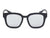 PD01 - Indie Thick Polarized  Frame Square Mirrored Lens Sunglasses - Iris Fashion Inc. | Wholesale Sunglasses and Glasses