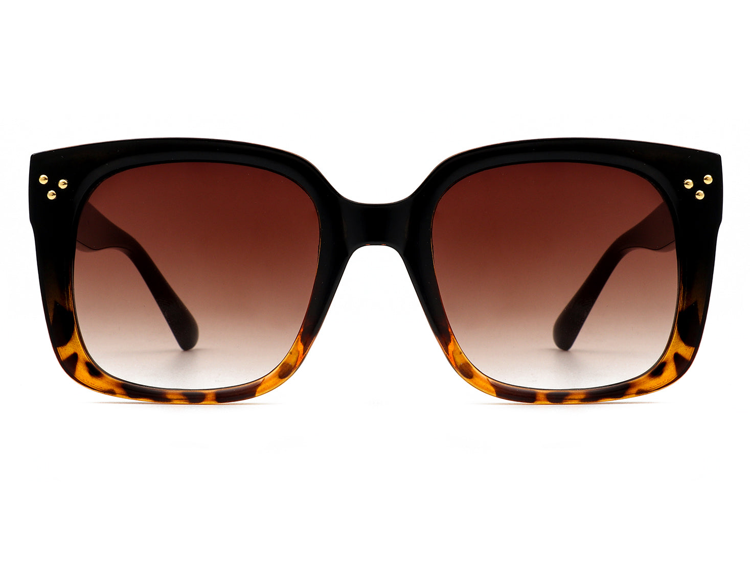 HS1023 - Classic Square Retro Vintage Cat Eye Fashion Sunglasses