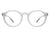 HBJ2014 - Circle Round Classic Unisex Blue Light Blocker Fashion Glasses