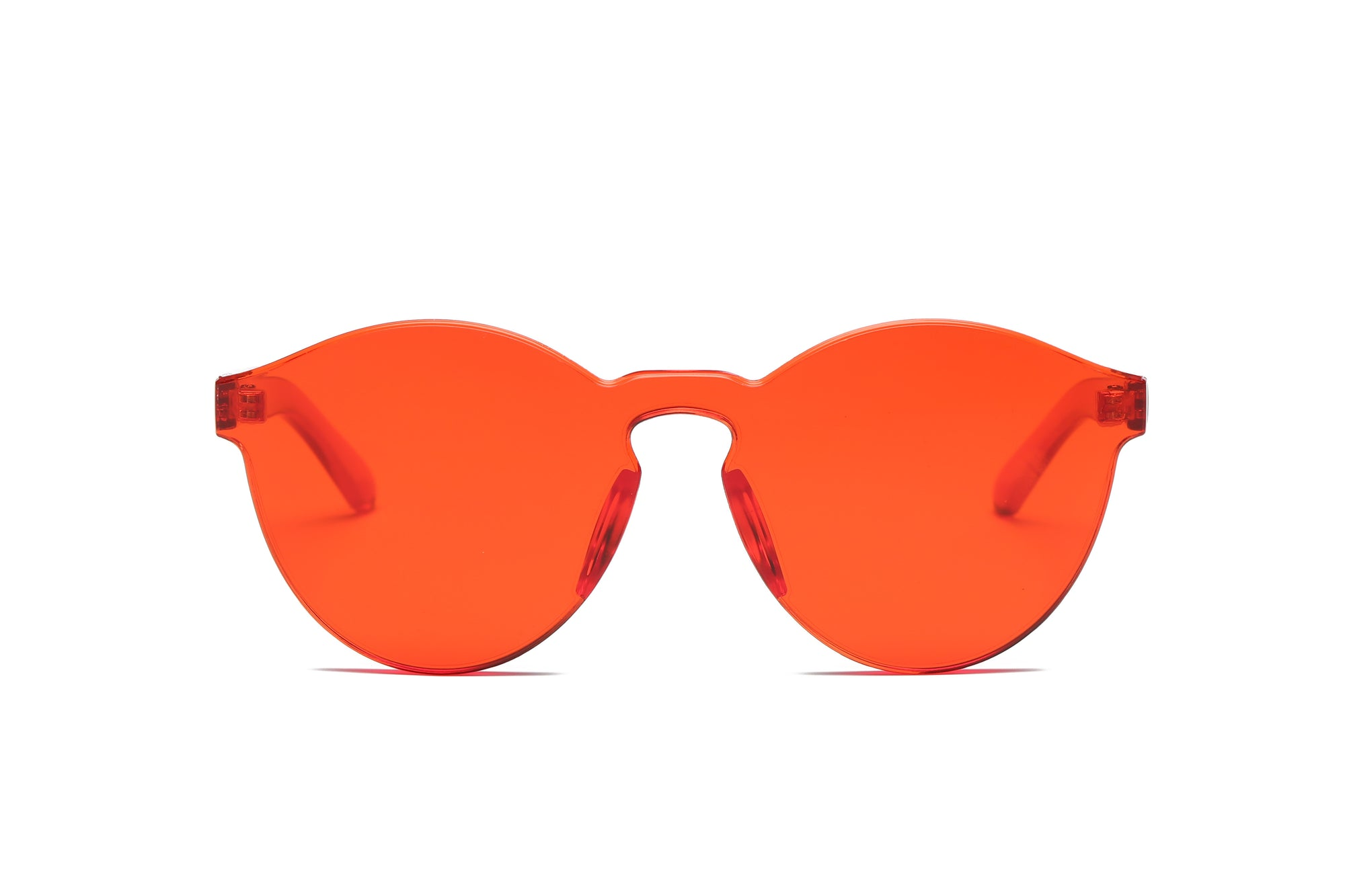 S2005 - Hipster Translucent Monochromatic Sunglasses - Wholesale Sunglasses and glasses