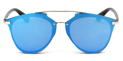 S1010 - Unisex Mirrored Round Sunglasses - Iris Fashion Inc. | Wholesale Sunglasses and Glasses