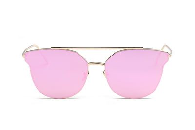 S2029 - Women Round Cat Eye Sunglasses - Iris Fashion Inc. | Wholesale Sunglasses and Glasses