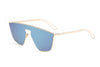 S2030 - Women Square Futuristic Flat Lens Sunglasses - Iris Fashion Inc. | Wholesale Sunglasses and Glasses