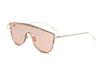 S2028 - Futuristic Single Tint  Color Sunglasses - Iris Fashion Inc. | Wholesale Sunglasses and Glasses