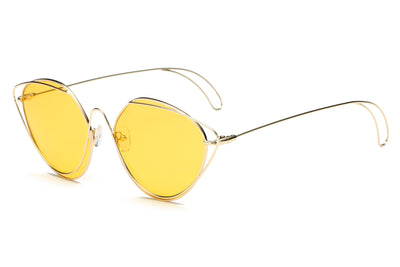 S2045 - Women Fashion Round Cat Eye Sunglasses - Iris Fashion Inc. | Wholesale Sunglasses and Glasses