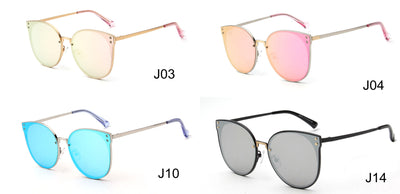 LAT-J32018 - Women Polarized Round Cat Eye Sunglasses - Iris Fashion Inc. | Wholesale Sunglasses and Glasses