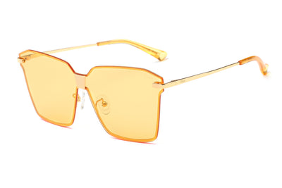 PRSR J6668 - Women Square Oversize Fashion Sunglasses - Iris Fashion Inc. | Wholesale Sunglasses and Glasses