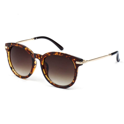 289 Round P3 Horn Rimmed Sunglasses w/ Embossed Hinges - Iris Fashion Inc. | Wholesale Sunglasses and Glasses