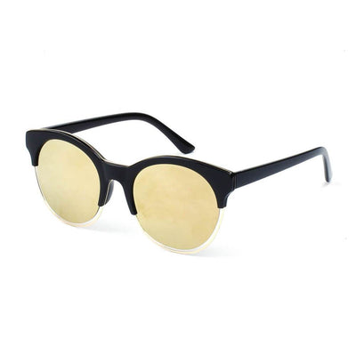 226 Round Clubmaster Sunglasses - Iris Fashion Inc. | Wholesale Sunglasses and Glasses
