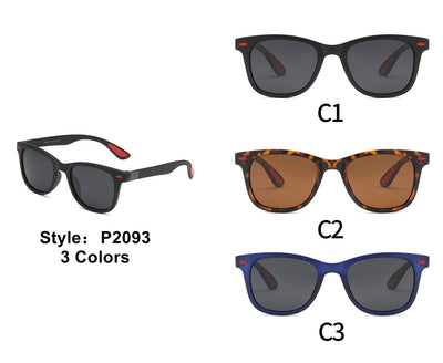 P2093 - Classic Retro Vintage Polarized Fashion Sunglasses - Iris Fashion Inc. | Wholesale Sunglasses and Glasses
