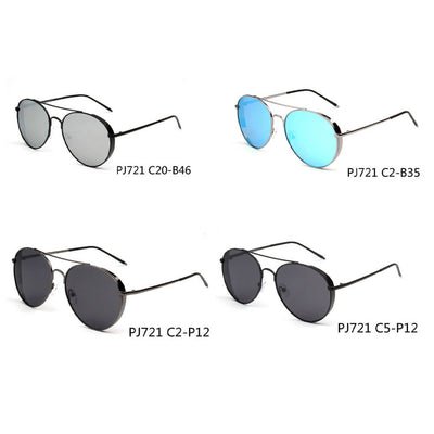SHIVEDA-PJ721 - Classic Polarized Aviator Sunglasses - Iris Fashion Inc. | Wholesale Sunglasses and Glasses