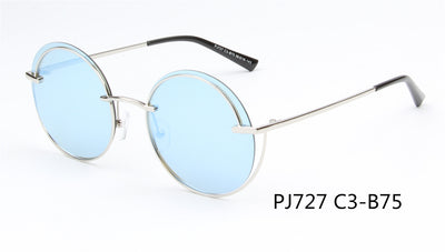 SHIV-PJ727 - Women Round Polarized Fashion Sunglasses - Iris Fashion Inc. | Wholesale Sunglasses and Glasses