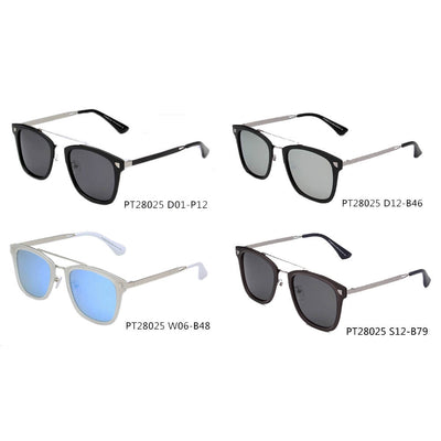 SHIVEDA-PT28025 - Polarized Square Fashion Sunglasses - Iris Fashion Inc. | Wholesale Sunglasses and Glasses