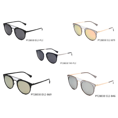 SHIVEDA-PT28030 - Women Polarized Round Fashion Sunglasses - Iris Fashion Inc. | Wholesale Sunglasses and Glasses