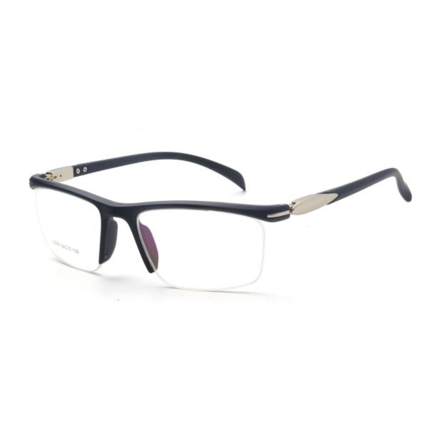 OTR4 - Men Rectangle Sport Shield Half Frame Optical Glasses - Iris Fashion Inc. | Wholesale Sunglasses and Glasses