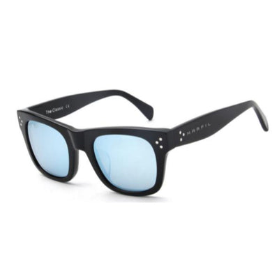 SA7 - Classic Retro Square Mirrored Fashion Sunglasses - Iris Fashion Inc. | Wholesale Sunglasses and Glasses