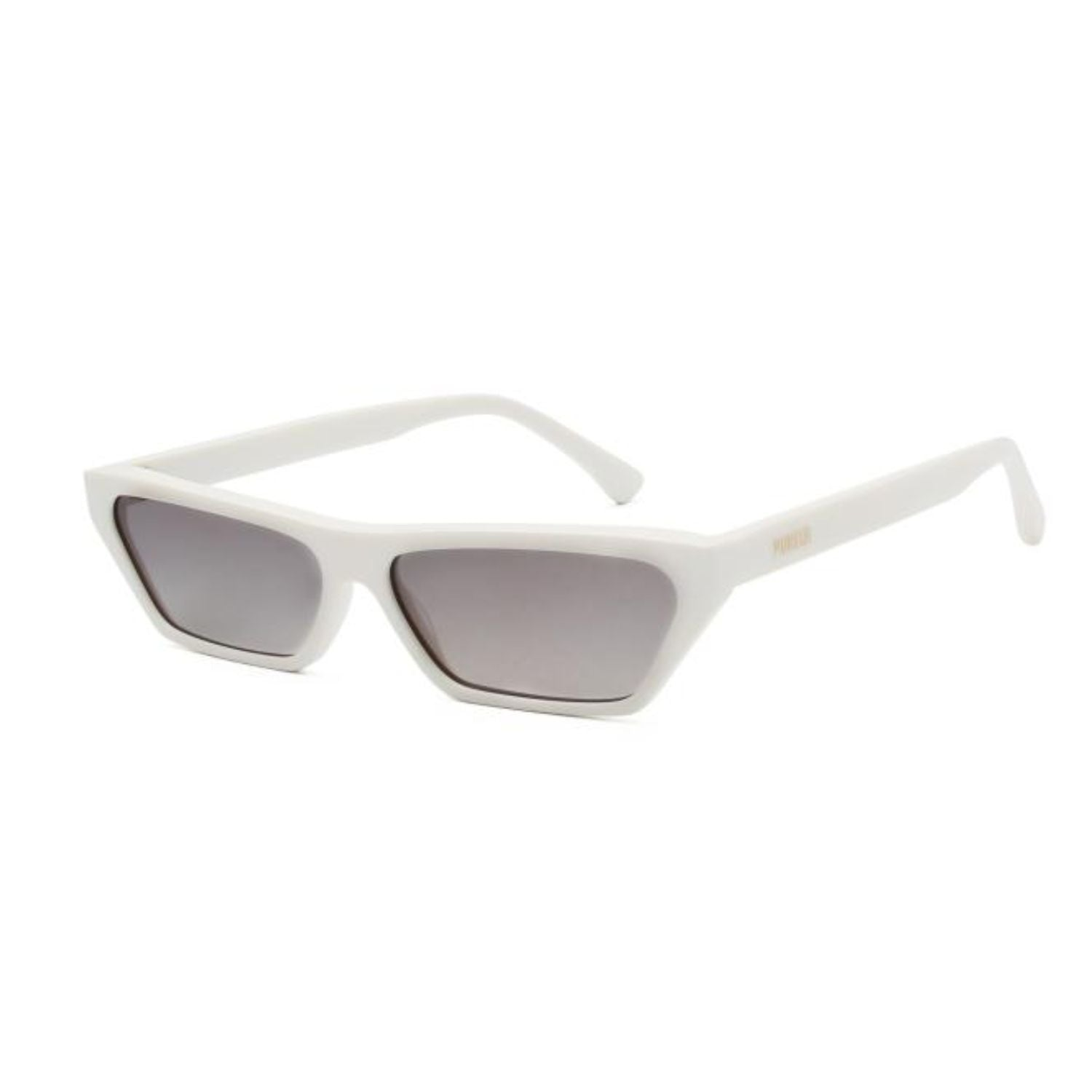 SA3 - Retro Slim Rectangle Cat Eye Fashion Sunglasses
