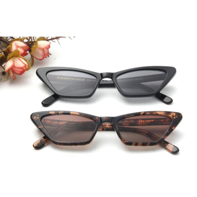 SA9 - Women Slim Rectangle Cat Eye Fashion Sunglasses - Iris Fashion Inc. | Wholesale Sunglasses and Glasses