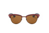 S2001 - Classic Half Frame Round Cat Eye Sunglasses - Wholesale Sunglasses and glasses
