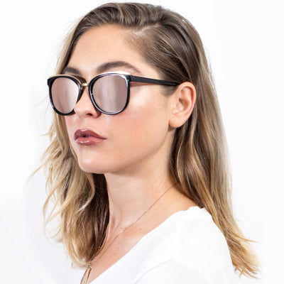 S1004 - Women Round Cat Eye Fashion Sunglasses - Iris Fashion Inc. | Wholesale Sunglasses and Glasses