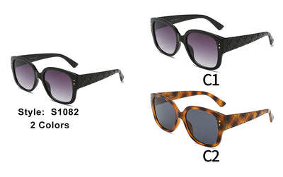 S1082 - Women Square Fashion Sunglasses - Iris Fashion Inc. | Wholesale Sunglasses and Glasses
