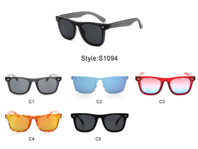 S1094 - Women Square Flat Lens Fashion Sunglasses - Iris Fashion Inc. | Wholesale Sunglasses and Glasses