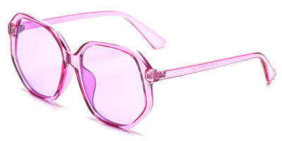S1108 - Women Geometric Round Oversized Fashion Sunglasses - Iris Fashion Inc. | Wholesale Sunglasses and Glasses