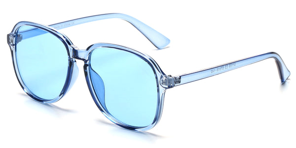 S1109 Women Retro Round Oversized Fashion Sunglasses - Wholesale Sunglasses and glasses