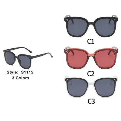 S1115 - Women Round Cat Eye Sunglasses - Iris Fashion Inc. | Wholesale Sunglasses and Glasses