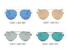 S2047 Unisex Mirrored Aviator Sunglasses - Wholesale Sunglasses and glasses