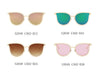 S2048 - Women Round Cat Eye Fashion Sunglasses - Iris Fashion Inc. | Wholesale Sunglasses and Glasses