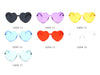S2058 Women Heart Shaped Sunglasses - Wholesale Sunglasses and glasses