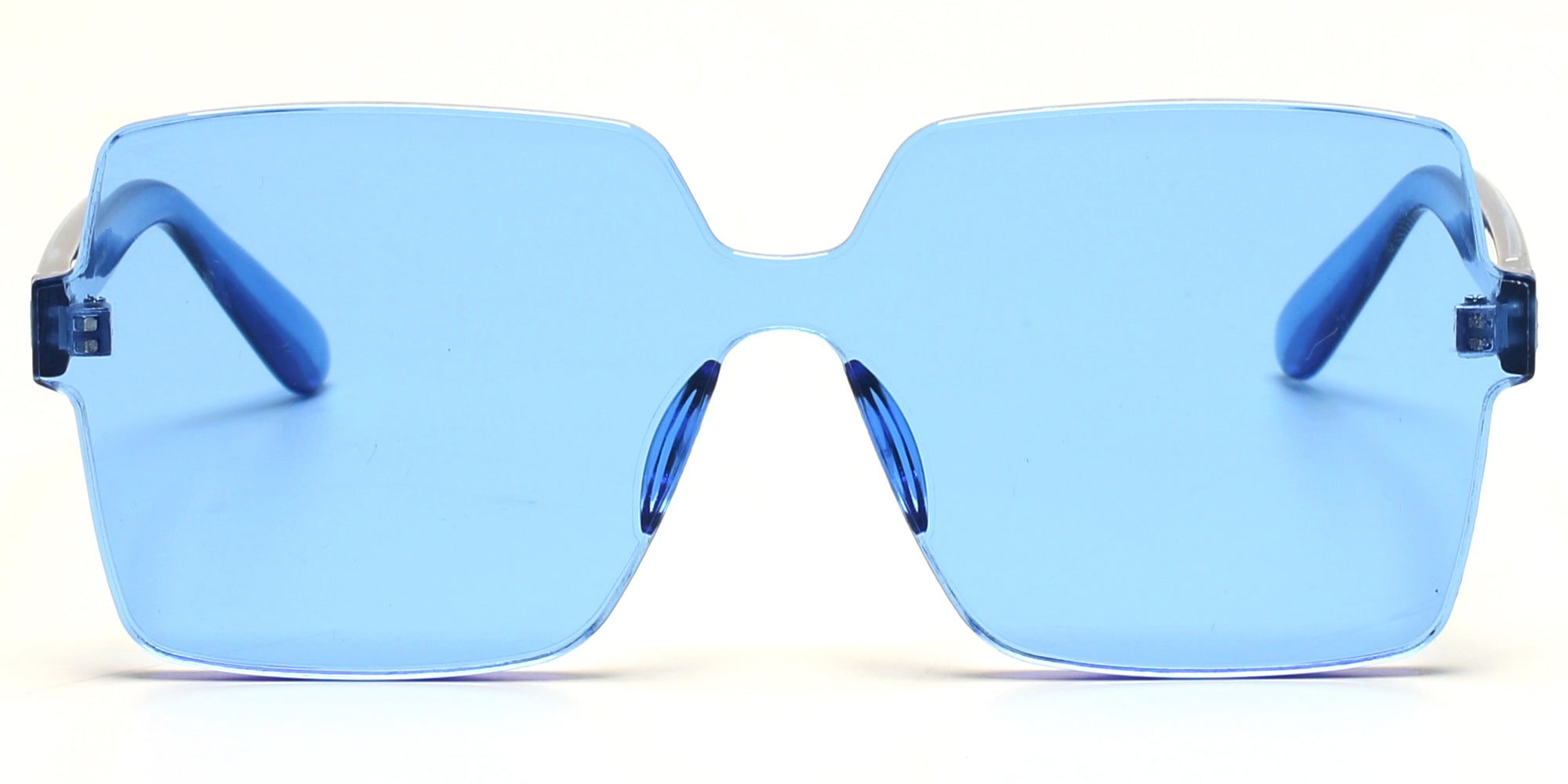S2079 - Retro Flat Top Square Oversize Sunglasses - Wholesale Sunglasses and glasses