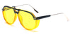S2080 - Modern Round Aviator Fashion Sunglasses - Wholesale Sunglasses and glasses